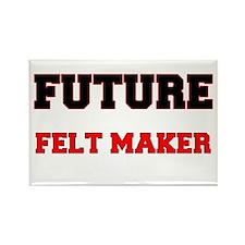 Future Felt Maker Rectangle Magnet