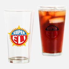 Super Eli Drinking Glass