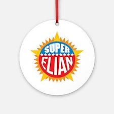 Super Elian Ornament (Round)
