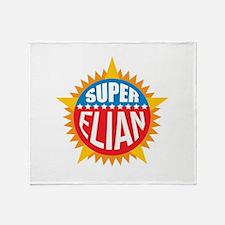 Super Elian Throw Blanket