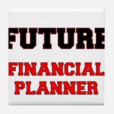 Future Financial Planner Tile Coaster
