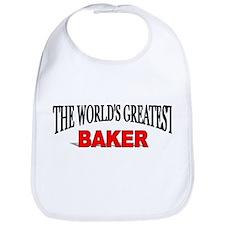 """The World's Greatest Baker"" Bib"