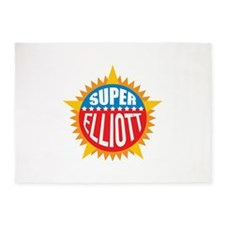 Super Elliott 5'x7'Area Rug