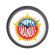 Super Emanuel Wall Clock