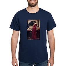 Crystal Ball magic lady Waterhouse painting T-Shirt