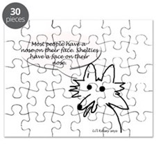 Face on Nose Puzzle