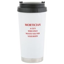 Mortician Travel Mug