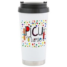 PICU Nurse Pillow Travel Mug