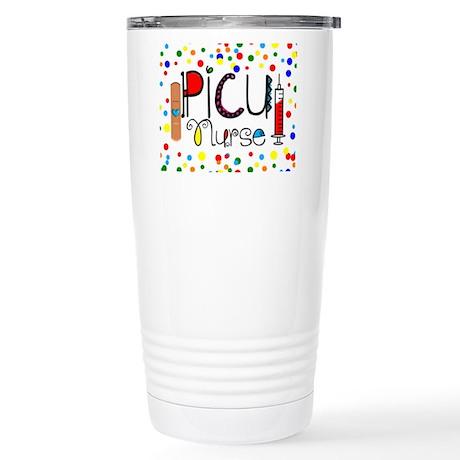 PICU Nurse Pillow Travel Mug