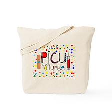 PICU Nurse Pillow Tote Bag