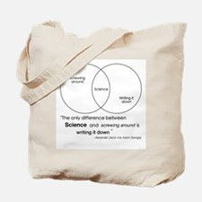 Mythbusters Science Quote Tote Bag
