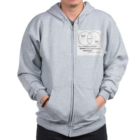 Mythbusters Science Quote Zip Hoodie