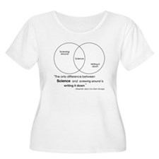 Mythbusters Science Quote Plus Size T-Shirt