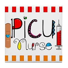 PICU Nurse Blanket Tile Coaster