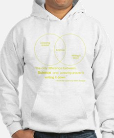 Mythbusters Science Quote (yellow) Hoodie