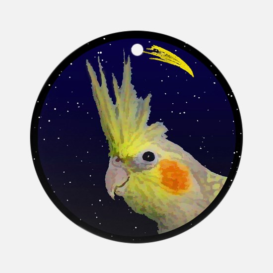 Christmas Night CP Cockatiel Christmas Ornament