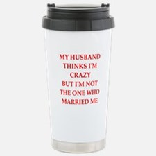 crazy Travel Mug