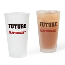 Future Graphologist Drinking Glass
