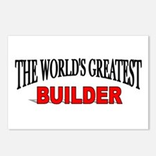 """""""The World's Greatest Builder"""" Postcards (Package"""