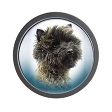 Cairn Terrier Top Champion Girl Wall Clock