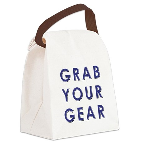 GRAB YOUR GEAR Canvas Lunch Bag