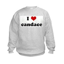 I Love candace Sweatshirt