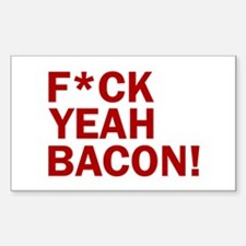 F*CK YEAH, BACON! Decal