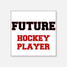 Future Hockey Player Sticker