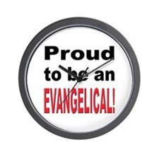 Proud Evangelical Wall Clock