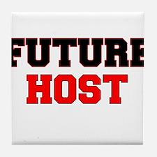 Future Host Tile Coaster