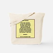 Dear Insomnia Tote Bag