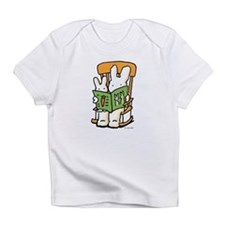 2 bunnies reading Infant T-Shirt