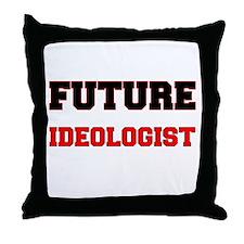 Future Ideologist Throw Pillow