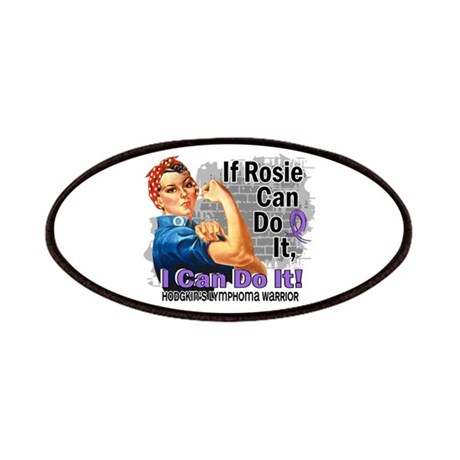 If Rosie Can Do It Hodgkins Lymphoma Patches