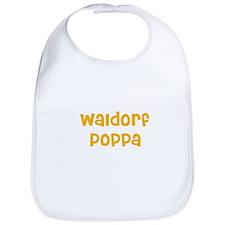 Waldorf Poppa Bib