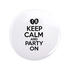 "Funny 18 year old gift ideas 3.5"" Button (100 pack"