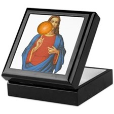 Jesus Christ Basketball Star Keepsake Box