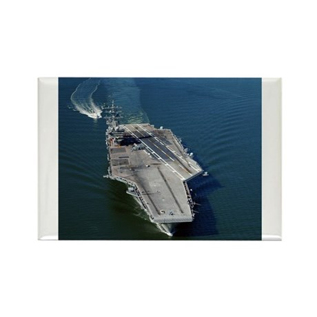USS Eisenhower CVN 69 Rectangle Magnet (100 pack)