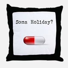 Soma Holiday Throw Pillow