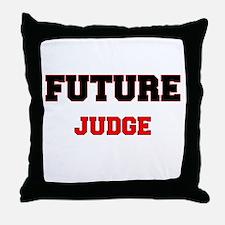 Future Judge Throw Pillow