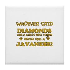 Javanese Mommy designs Tile Coaster