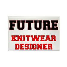 Future Knitwear Designer Rectangle Magnet