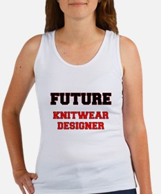 Future Knitwear Designer Tank Top