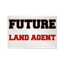 Future Land Agent Rectangle Magnet
