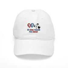 Funny 90 year old designs Baseball Cap