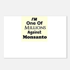 Im One of Millions Against Monsanto Postcards (Pac
