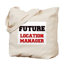 Future Location Manager Tote Bag