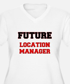 Future Location Manager Plus Size T-Shirt