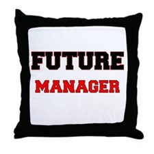 Future Manager Throw Pillow
