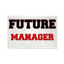 Future Manager Rectangle Magnet
